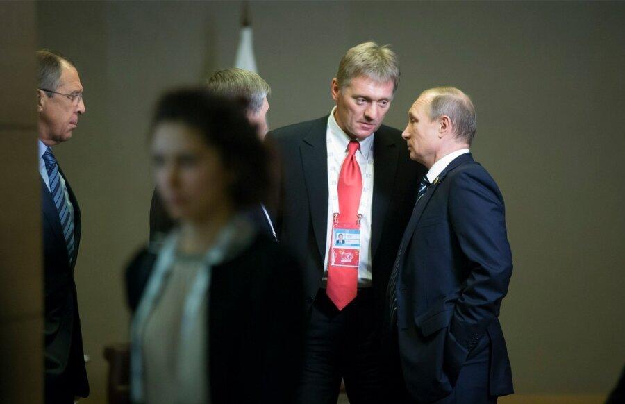 Песков: письмо В. Путина будет особым