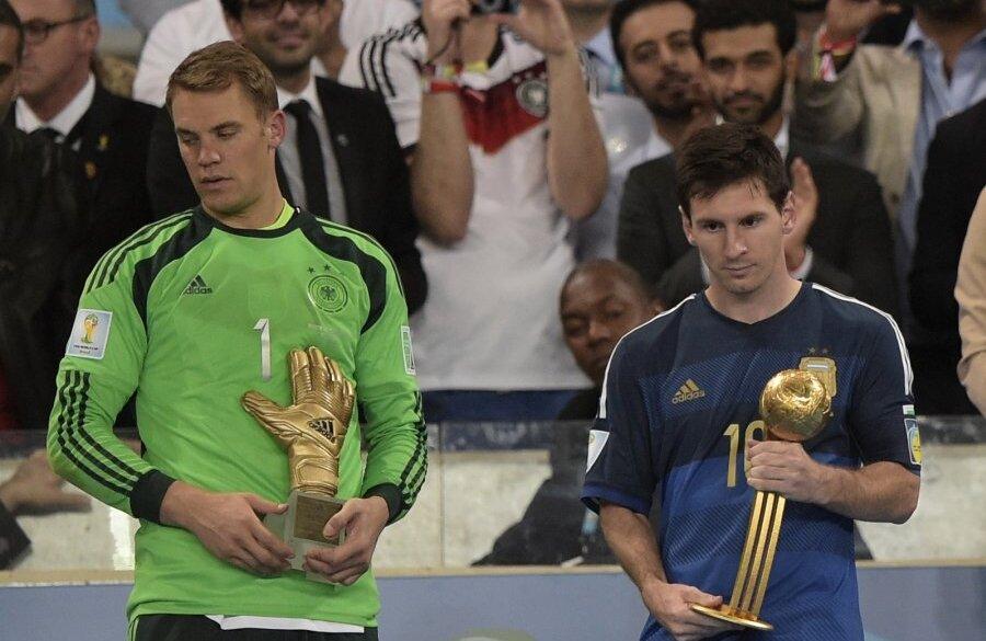 Лучшей игрок мира по футболу 2014