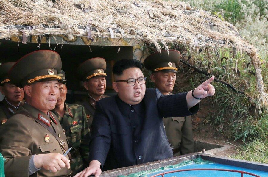 Винтернете появилось видео запуска КНДР ракет