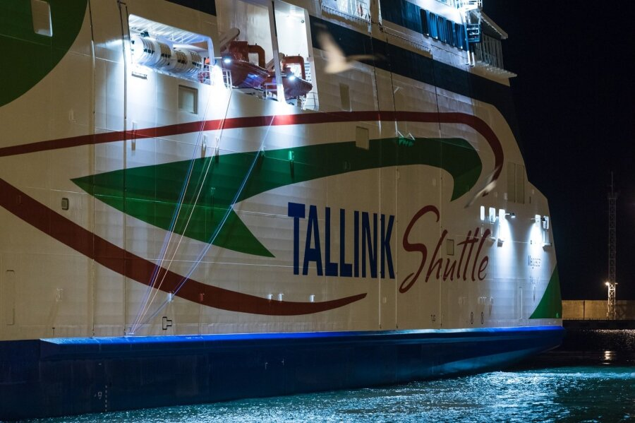 Пассажирское судно Megastar вышло в 1-ый рейс помаршруту Таллин-Хельсинки