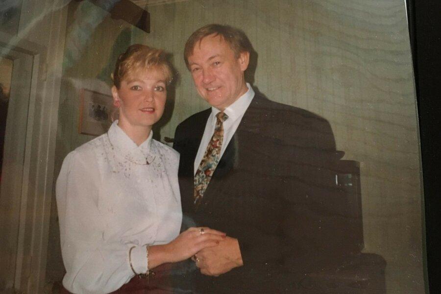 Katrini ja Trygve esimesed ühised jõulud, 1993