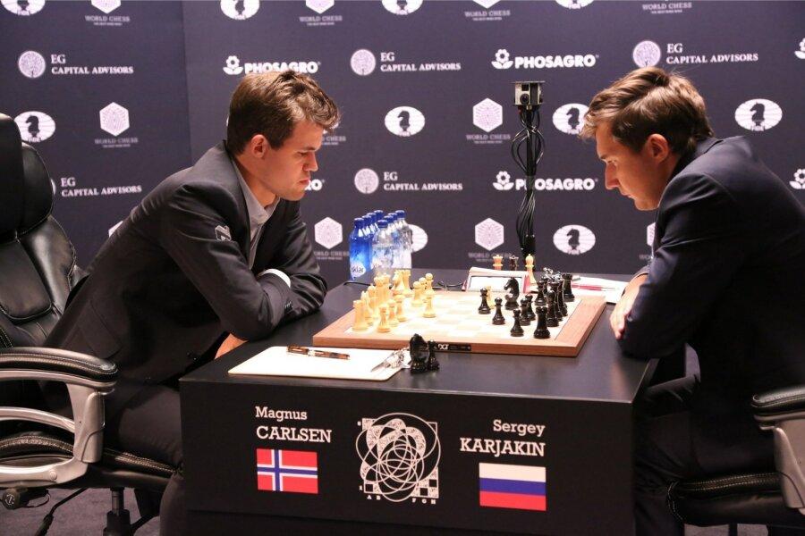 Норвежец Карлсен похвалил русского гроссмейстера— Карякин хорош