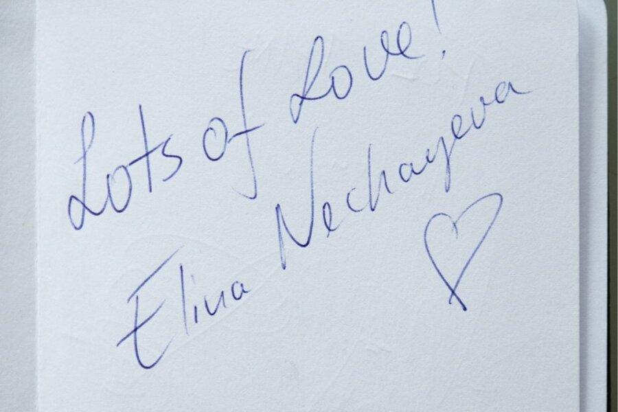 Eurovisioonil esinevate artistide autogrammid