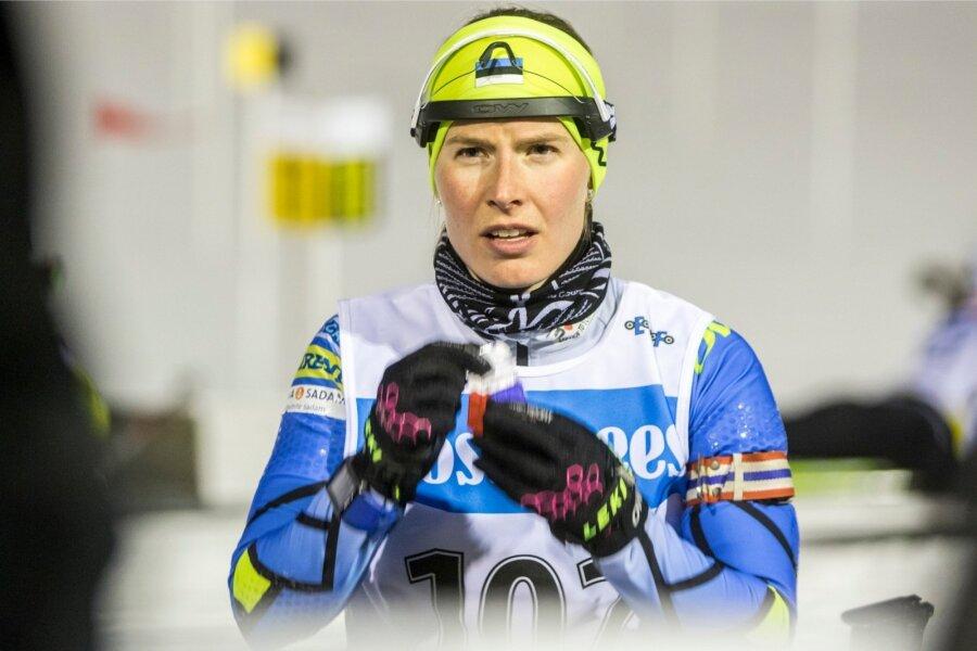 Биатлон: Лаукканен выиграла стартовую гонку вХольменколлене, Джима— 13-я