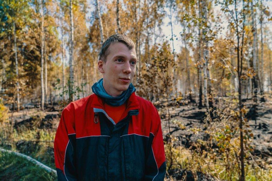Aegviidu metsapõleng + vabatahtlikud