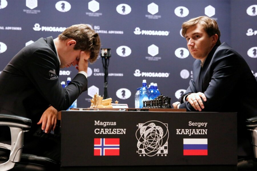 Карякин— Карлсен тай-брейк смотреть онлайн 30ноября, видео, LIVE, прогноз