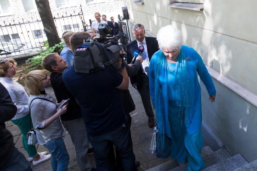 1-ый тур выборов президента Эстонии прошел безуспешно
