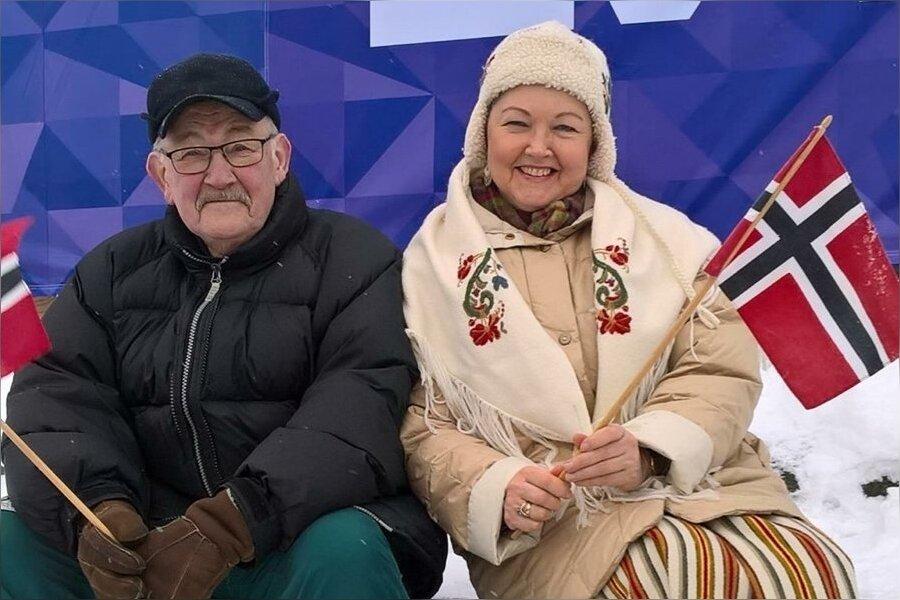 Lahti MM-l Johannesele kaasa elamas, 2017