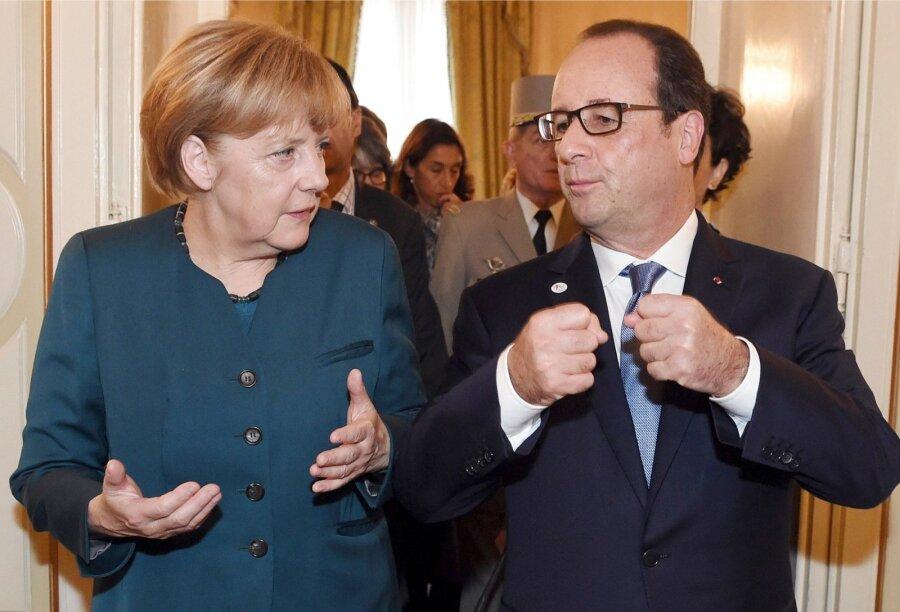 Меркель хочет поговорить сТрампом о Российской Федерации