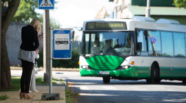 объезд автобуса на остановке этом сезоне