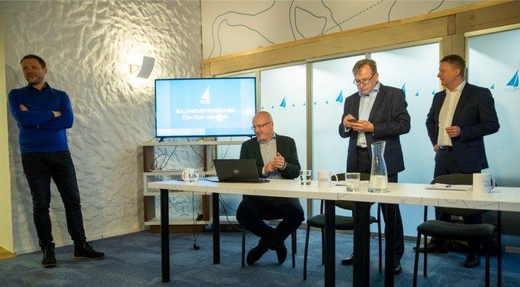 FOTOD | Eesti 200 majandusprogramm: anname ajutised tööload kõigile välismaalastele, kes soovivad siin töötada ja seadusi järgivad