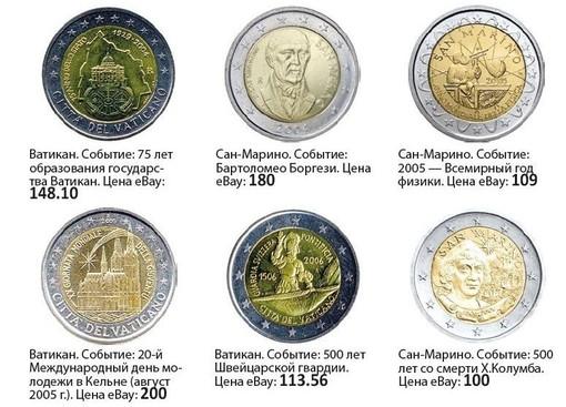 Монеты двухевровые юбилейные пемолюкс сода состав