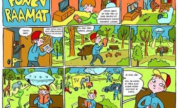 Koomiks: Põnev raamat