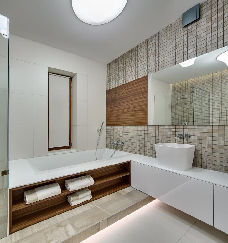 Puit vannitoas originaalne ja turvaline lahendus moodne kodu - Nicchie in bagno ...