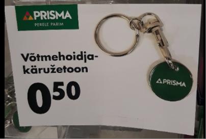 Prismas müügile tulnud käružetoonid, mis on võimalik kinnitada võtmete külge,