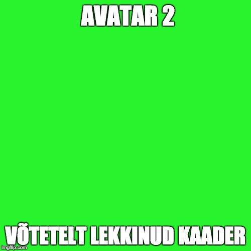 """Kauaoodatud: """"Avatar 2"""" võtetelt lekkis avalikkuse ette üks kaader!"""