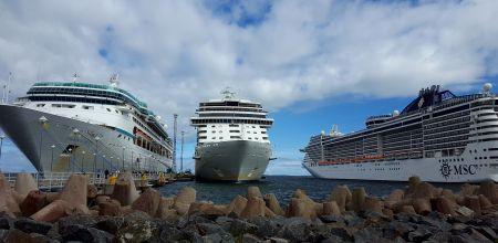 Kruiisilaeva külastus Tallinna sadamas 2le