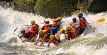 Rafting Zambesi jõel, Zimbabwes. Seiklus ja looduselamus serveeritud kuumalt ja märjalt