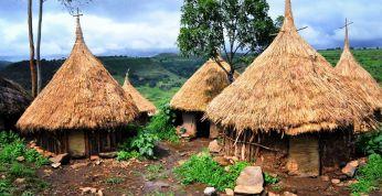 Matkareis Etioopias. Mägimatk tsivilisatsiooni hälli
